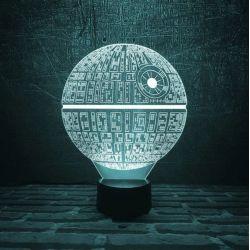 Lampara LED Efecto 3D...