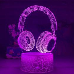 Lámpara LED Auriculares...